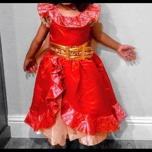 Disney Princess Elena dress for little girls